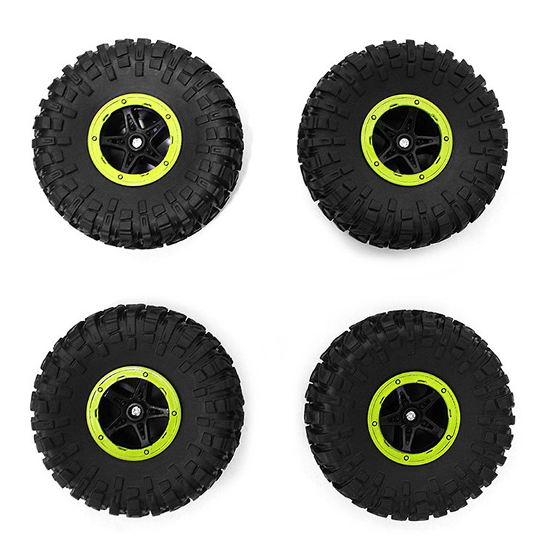High Quality 4Pcs Wheel Accessory for HB - P1803 HBP1803 Climbing Car Remote Control Off-road Vehicle Toys Parts Wheel two color choices mt50 with usb and sensor solar regulator 20a mppt tracer2210a for 12v 24v auto work
