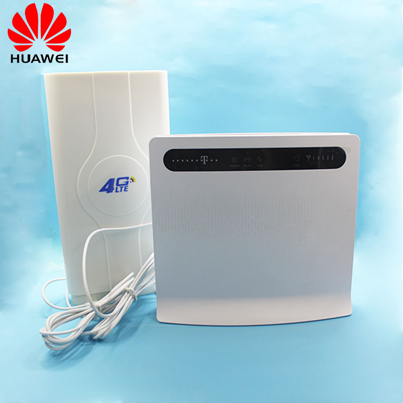 Unlocked New HUAWEI B593 B593u-12 B593s-12 4G WIFI Router 4G 100Mbps LTE CPE Wireless Gateway Huawei With AntennaUnlocked New HUAWEI B593 B593u-12 B593s-12 4G WIFI Router 4G 100Mbps LTE CPE Wireless Gateway Huawei With Antenna