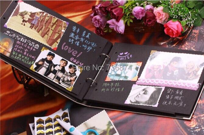 how to make handmade photo album at home