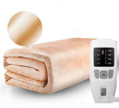 180 cm sécurité double température contrôleur de chronométrage lit électrique couverture ménage électrique matelas doux tapis plus chaud coussin chauffant