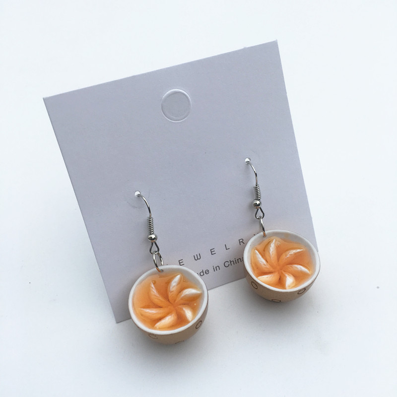 Egg Noodles Earrings 5