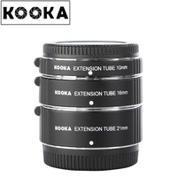 KOOKA KK-FT47 Copper Extension Tube Set TTL Auto Exposure for Olympus Panasonic Mirrorless 4/3 System Camera (10mm 16mm 21mm)
