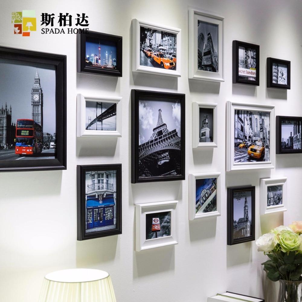Online kopen Wholesale Zwart vierkant fotolijsten uit China Zwart ...