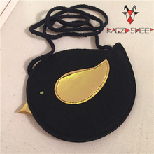 Raged Sheep Girls Small Coin Purse Change Wallet Kids Bag Coin Pouch Childrens Wallet Money Holder Kids Gift Birds Bags