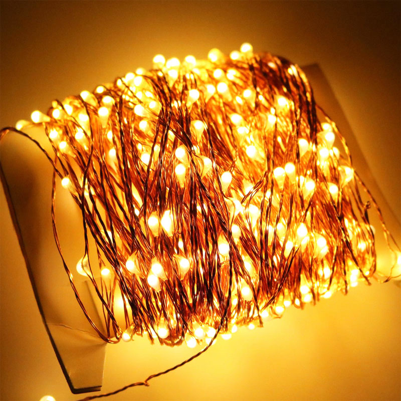 10pcsx50m 165ft 500leds extra long copper wire string lightled this is adapter for 50m string lights us eu au uk plug available please leave message which you want mozeypictures