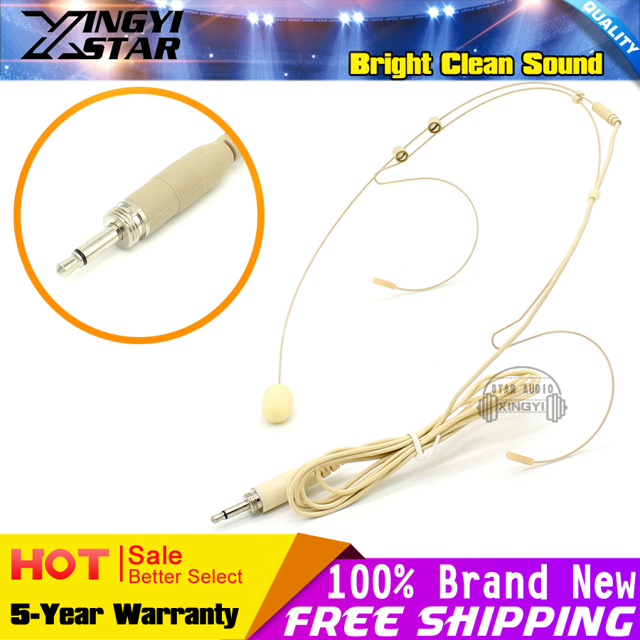 10pcs 35mm Screw Thread Plug Dual Earhook Headworn Headset Homtom Ht17 Journey From The First Circuit Board To Delivery Microphone Headband Mic For Karaoke Wireless Bodypack Transmitter