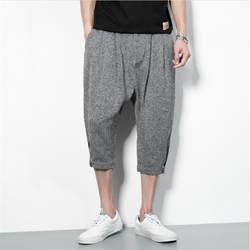 2019 мужские брюки летние мешковатые молнии шаровары мужские хип-хоп High Street Модные брюки для бега мужские брюки карго Большие размеры A3198
