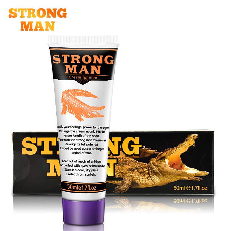 Strong man herbal sex penis enlargement gel Dick enhancer