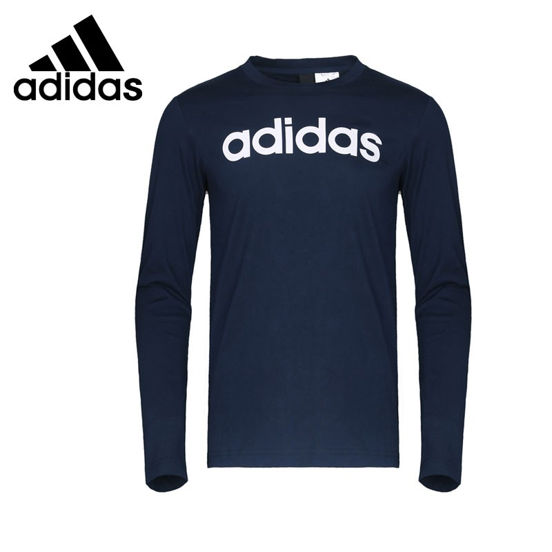 Original New Arrival Adidas SA LS TEE LNR Men's T-shirts Long sleeve Sportswear sanctuary new tan long sleeve lace inset tee xs $49 dbfl