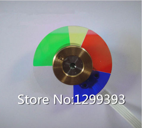 Projector Color Wheel for  Dell 1800MP   Free shipping projector color wheel for optoma dm13 dm15