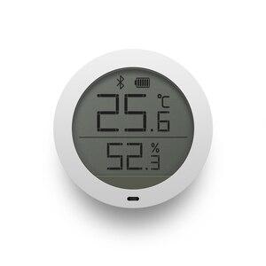 Image 2 - الأصلي شاومي Mijia بلوتوث درجة الحرارة الذكية الرطوبة الاستشعار شاشة LCD ميزان الحرارة الرقمي الرطوبة متر مي APP في المخزون