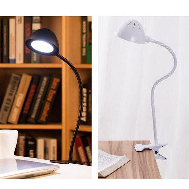 Chenfec настольная лампа <font><b>LED</b></font> 5 Вт Регулируемый USB rechargeabe глаз Защитные Гибкая Night Light