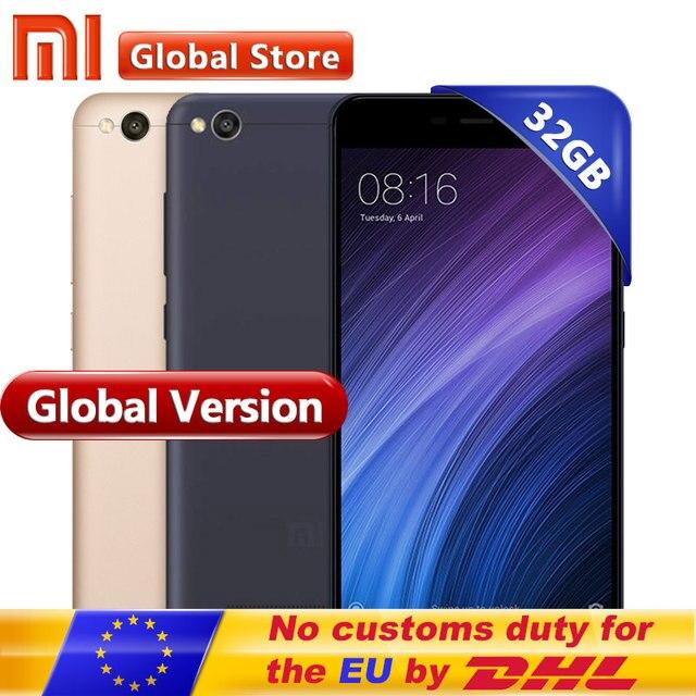 """Первоначально Глобальный Версия Xiaomi Redmi 4A 2 ГБ 32 ГБ смартфон телефон Snapdragon 425 4 ядра Процессор 5.0 """"13.0MP"""