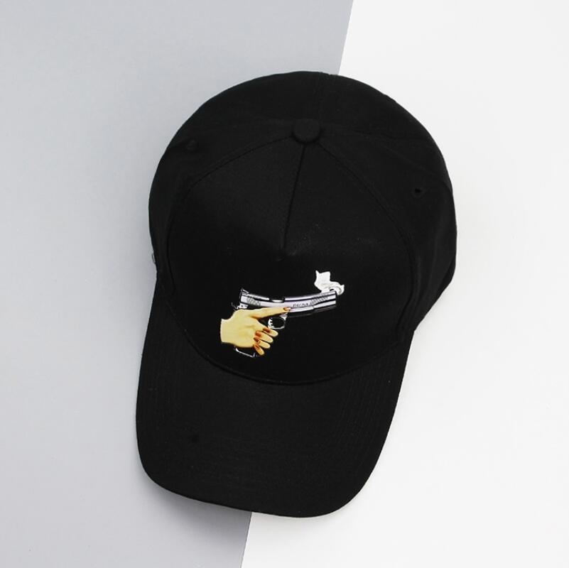 Новинка 2017 года поступления Новая мода унисекс Snapback Защита от Солнца шляпа хлопковая Бейсболки для женщин однотонные черные Цвет