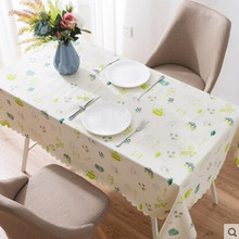 Rural small pure and fresh and table cloth Waterproof and hot oil disposable Pvc plastic tablecloth household rect все цены