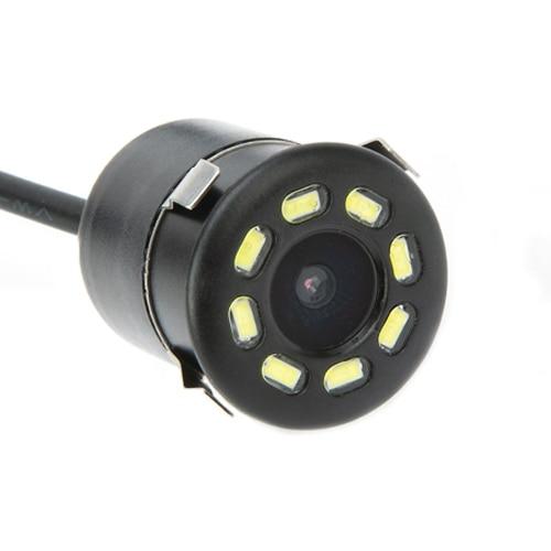 Hipppcron Автомобильная камера заднего вида 4 светодиодный монитор ночного видения заднего вида Авто парковочный монитор CCD водонепроницаемый 170 градусов HD видео - Название цвета: 101 LED