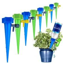 12 шт., регулируемый диспенсер для капельного орошения растений, автоматический полив, капельницы, устройство, система, домашняя 3,484