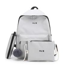 Trend Women Backpack Korea Style Female College Students Back Pack Schoolbag For teenager Girls Letter Printing Girls Knapsack