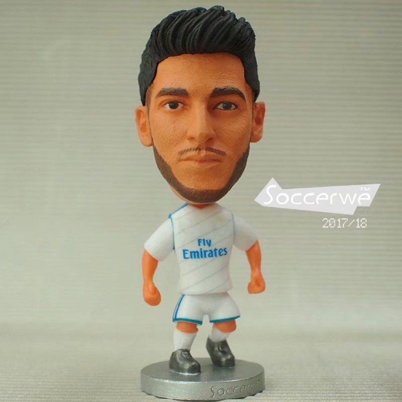 Soccer Player Star 20# ASENSIO (RM-2018) 2.5 Action Dolls Figurine FreeShipping