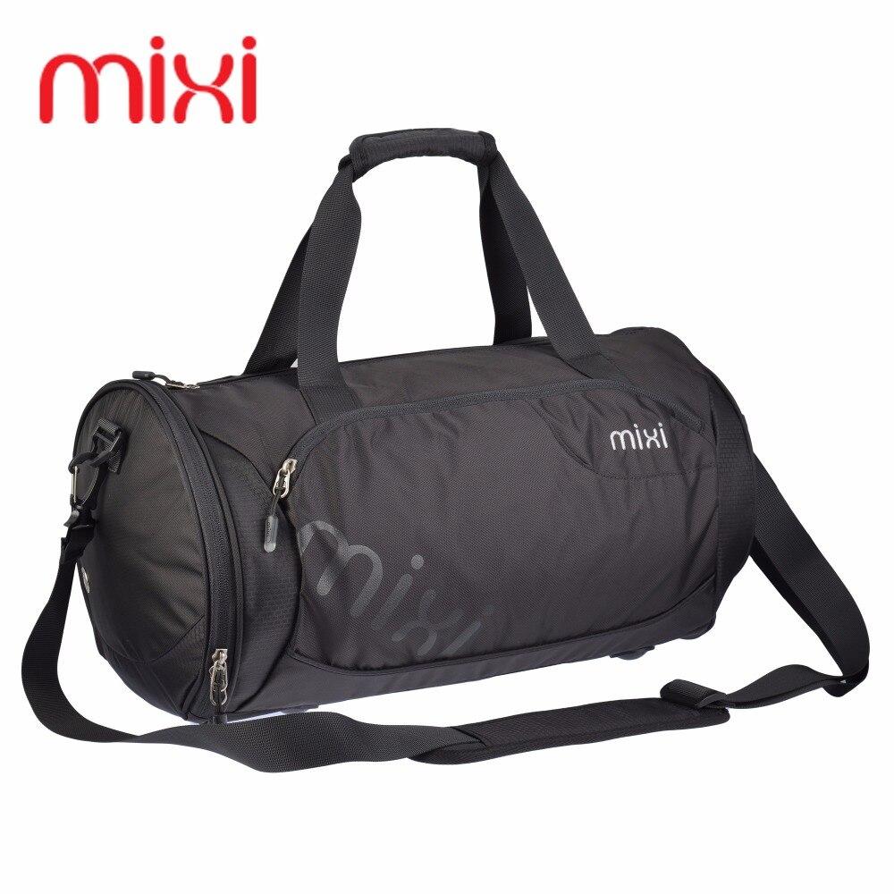 Mixi High Quality Nylon Waterproof Gym Sports Handbag Professional Men Women Fitness Shoulder Bag Basketball Special