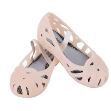 Melissa 2019 New girls Shoes Crystal Jelly Sandals Children Hollow Toddler Girls kids princess