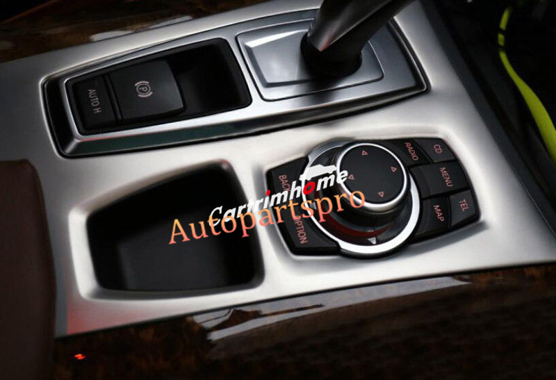 Interior Gear Shift Box Panel Cover Trim 1pcs For BMW X5 E70 10-13 / X6 E71 10-14 vel vel 03 06 04 00800
