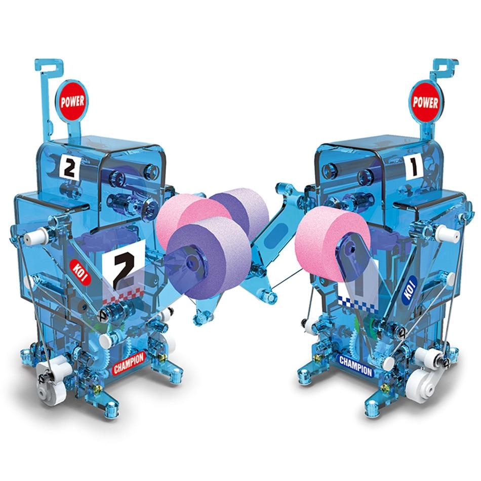 100% Wahr Diy Boxen Kämpfer Selbst-montiert Elektronische Roboter Figuren Rc Spielzeug Kit Pädagogisches Fernbedienung Party Action Figure 5- 7 Jahre Kaufe Jetzt