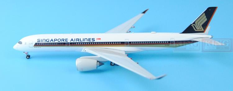 New: Phoenix 11211 Singapore Airlines 9V-SMA 1:400 A350-900 commercial jetliners plane model hobby