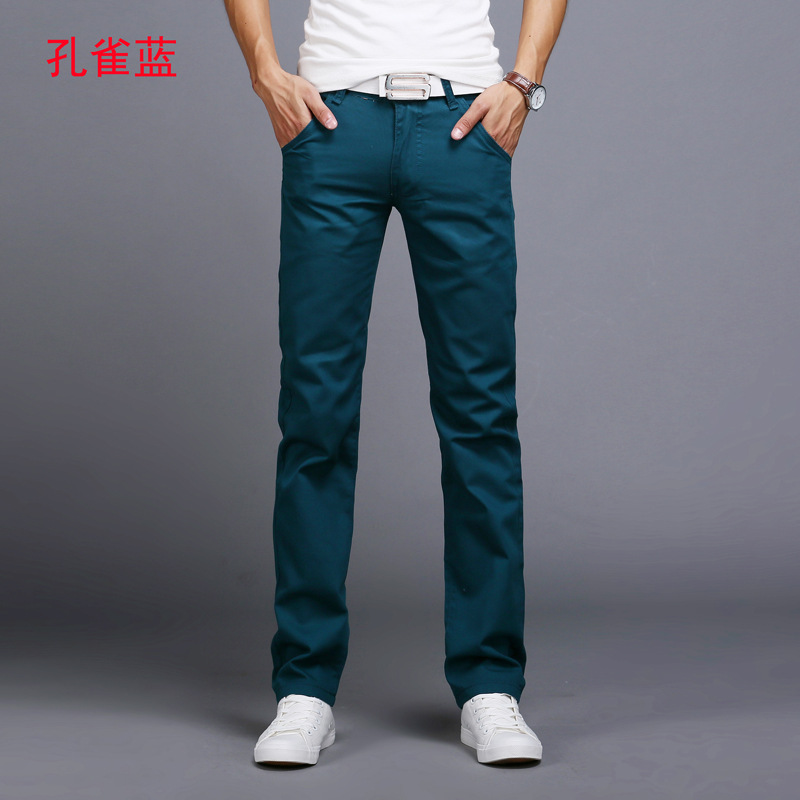 HTB1JhLMasvrK1Rjy0Feq6ATmVXay TANGYAXUAN New Design Casual Men pants Cotton Slim Pant Straight Trousers Fashion Business Solid Khaki Black Pants Men 28-38