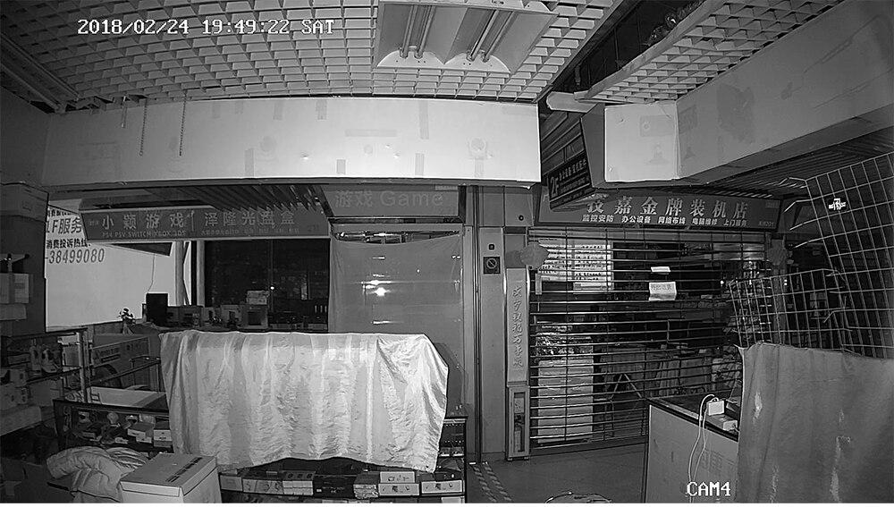 kit de vigilância de vídeo 2 câmera