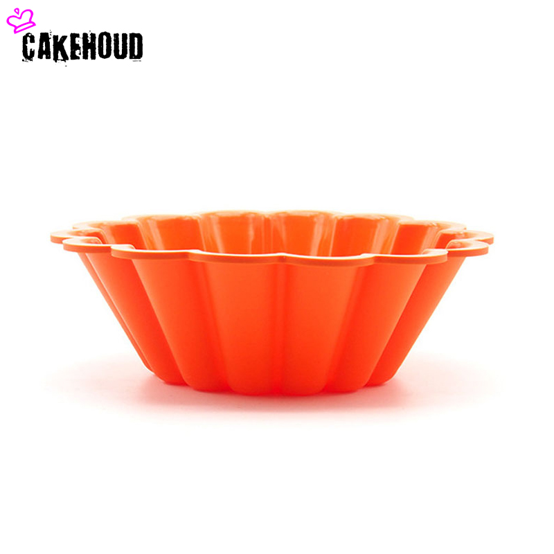 CKEHOUD 8inch silikon Fransız Çiçək Şifon Tort qəlib Pişirmə - Mətbəx, yemək otağı və barı - Fotoqrafiya 4