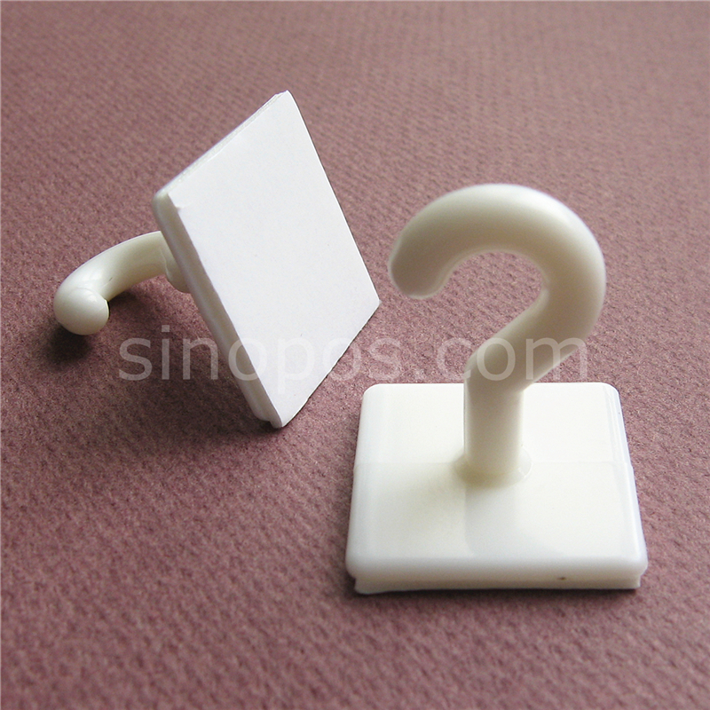 Adhesive Plastic Ceiling Hook 25mm