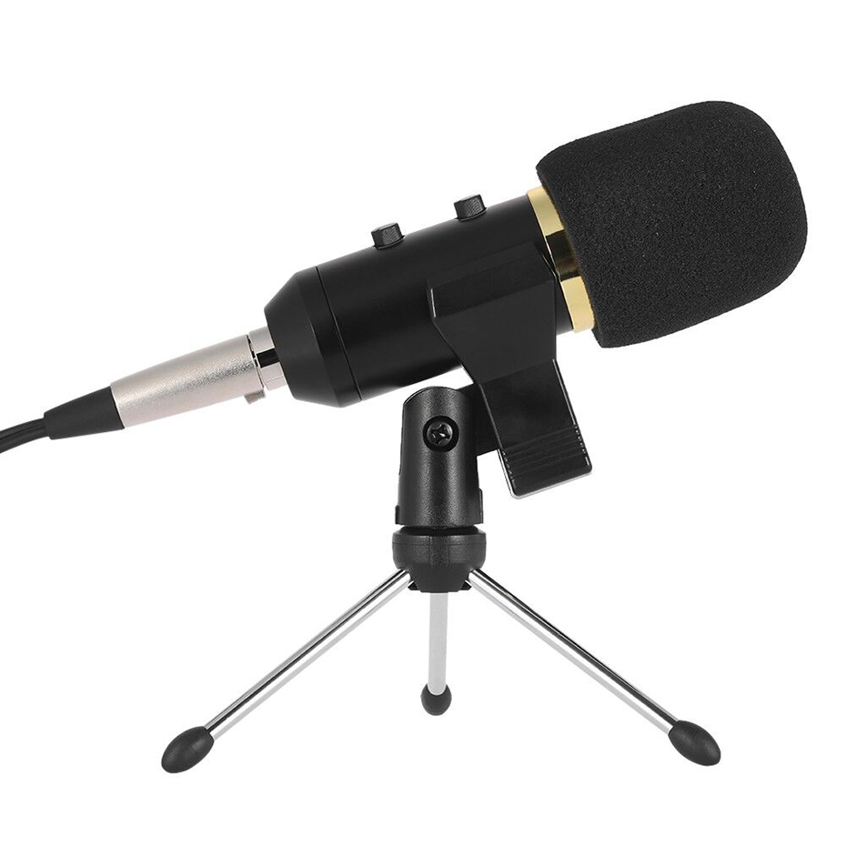 MK F100TL Wired Microphone Handheld Mic For Video Recording USB PC Condenser Noise Cancelling Microphone with Stand For Computer оркестр классика а канторов