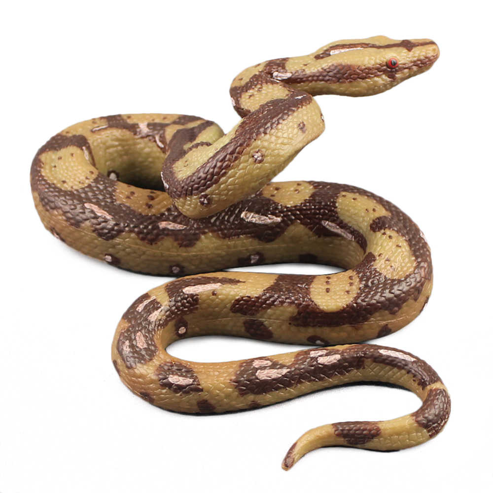 Nep Open Mond Snake Speelgoed Scary Grote Python Speelgoed Halloween Tuin Props Tuin Props Joke Prank Funny Speelgoed