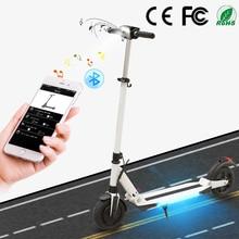 SUPERTEFF электросамокат 8 дюймов Bluetooth  музыка электроный самокат два колеса с kugoo App гирокутер 2 колеса самокат 30 км
