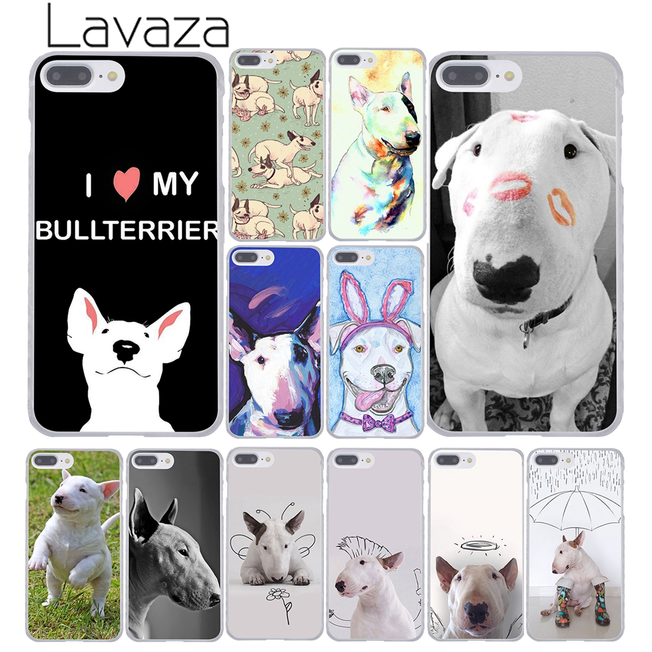 Bull Terrier Chien Chiots iphone case