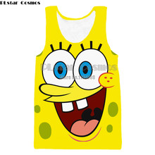 PLstar Cosmos Classical Style Men women vest 3d summer cool tank tops print  cute cartoon big size tees f07737f4f2eb
