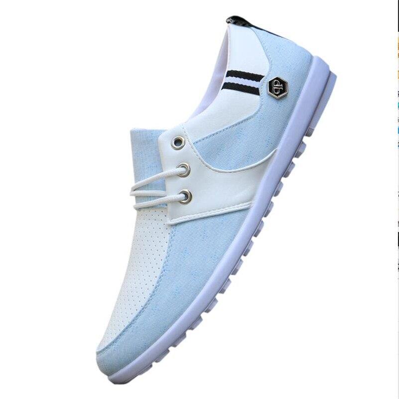 De Ciel Déodorant Pu gris Hommes Occasionnels Paresseux Chaussures D'été Net 2018 Nouveaux Toile Respirant vO80mPNnyw