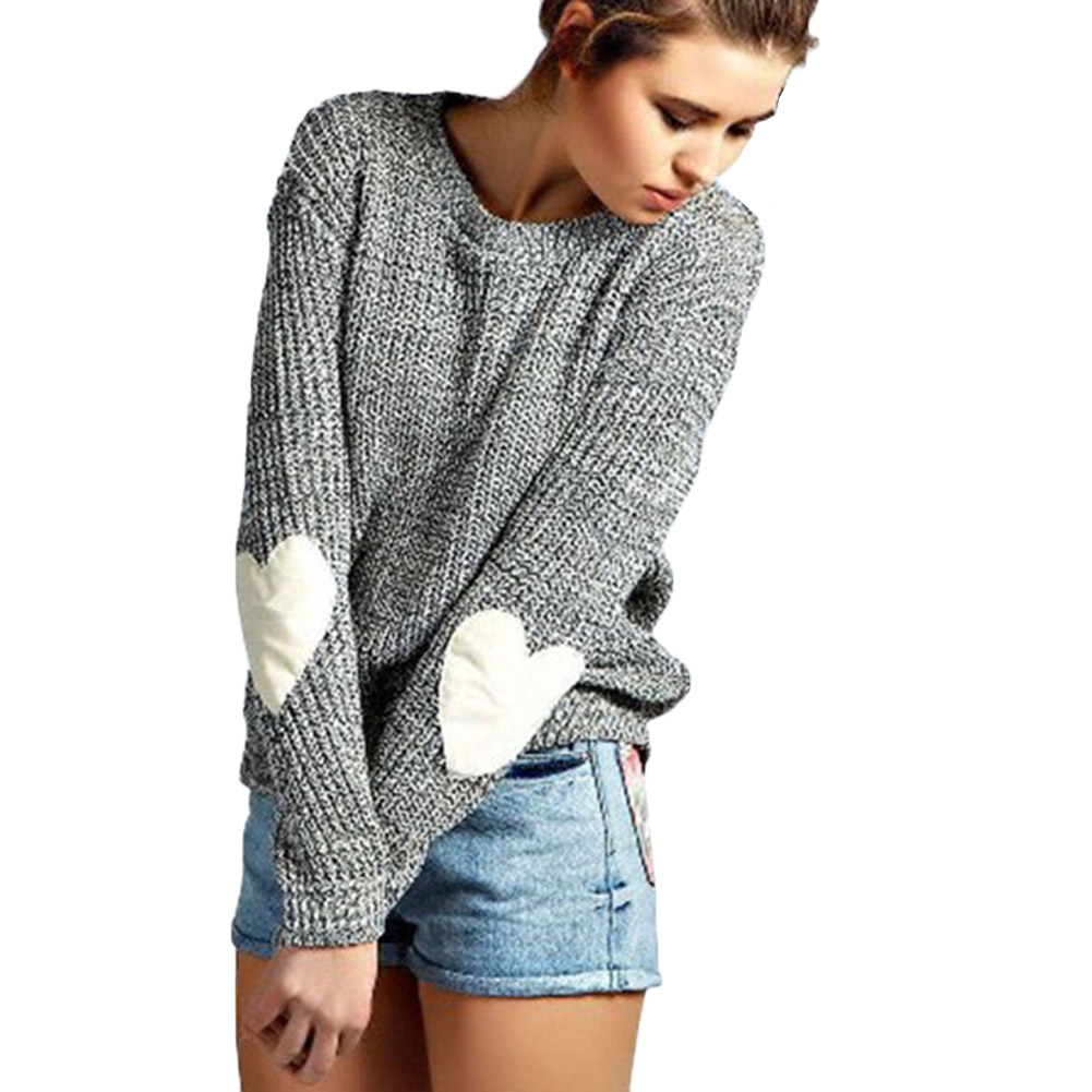 Charm Trend Sweaters Classical Perfect Design Winter Newest Long Sleeve O-Neck Pretty Trendy