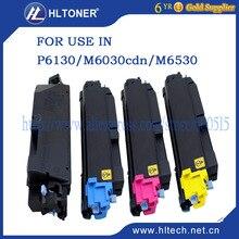 4 pcs/ensemble TK5140 cartouche de toner utilisation compatible pour Kyocera Ecosys P6130/M6030cdn/M6530cdn