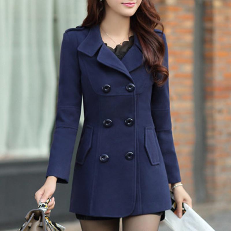 women blended coat WWN717 (2)