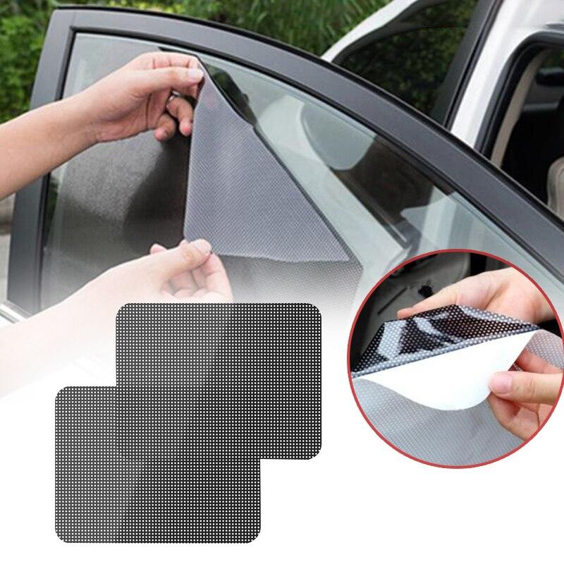 2 шт Универсальный Автомобильный солнцезащитный щиток для автомобиля блок статический цепляющий козырек экран