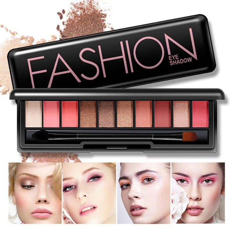 18 Colors Matte Shimmer Eyeshadow Palette Maquiagem Powder