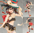 Anime Love Live! Ídolo escola Festival Yazawa Nico 1/7 Scale PVC Figure Collectible Modelo Toy 22 cm