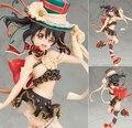 Anime Love Live! Festival de Ídolo de la escuela Yazawa Nico 1/7 Escala PVC Figura de Colección Modelo de Juguete 22 cm