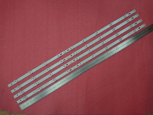 Image 3 - 8pcs LED backlight strip for LG 39LN5700 39LN5757 39LA616V 39LA621V 39LA620S 39LN5400 39LN5300 39LN5100 39LN540V 39LN570V