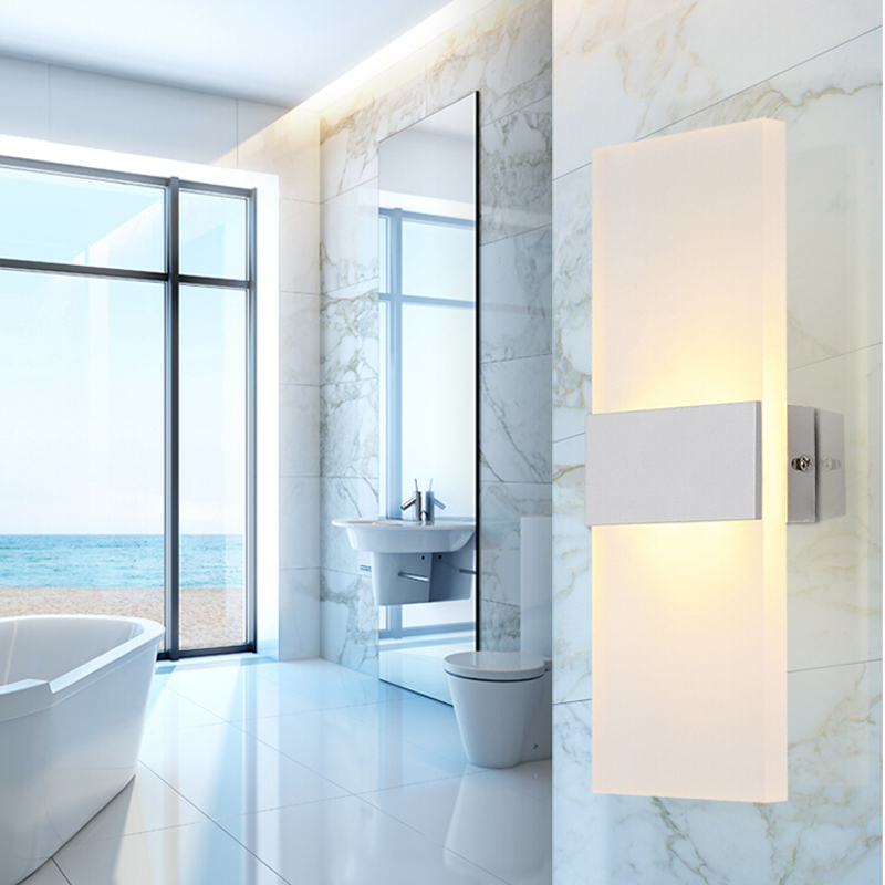 Modern Bedroom Wall Lamps Abajur Applique Murale Bathroom Sconces Home  Lighting Led Strip Wall Light Fixtures Luminaire Lustre In LED Indoor Wall  Lamps From ...