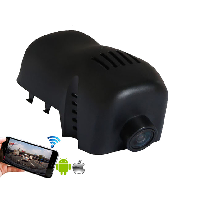 1080P Motion Detection G-sensor WIFI car recorder camera for 2014-2015 VW Touareg