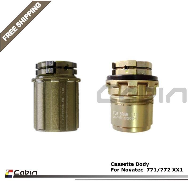 New Novatec Rear Hub Freehub Body Type B2 8//9//10 Shimano//SRAM Sealed Bearings