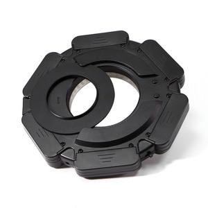 Image 5 - Selens LED video Ring Light 160 Chips Dimmable LED for DSLR DV Camcorder Video 5600K Source Free Lens Adapter Ring Annular Lamp